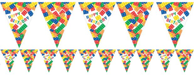 Block Party Paper Flag Bunting