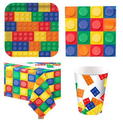 Block Party Party Pack - Value Pack for 8