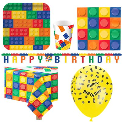 Block Party Party Pack - Deluxe Pack for 8