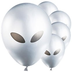"Alien Balloons - 12"" Latex"