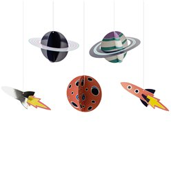 Space Hanging Decorations