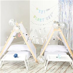 Space Party Sleepover Tent Kit