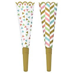 Confetti Fun Party Horns - Party Blowers