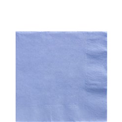 Baby Blue Beverage Napkins - 25cm