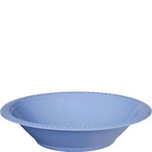 Baby Blue Party Bowls - 355ml Plastic