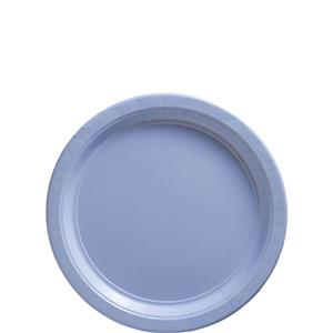 Baby Blue Plates - 18cm Paper Party Plates