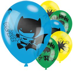 "Batman & Joker Balloons - 11"" Latex"