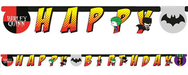 Batman & Joker Banner - 2.5m