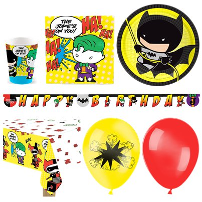 Batman V Joker Deluxe Party Pack