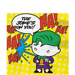 Batman & Joker Paper Napkins - 33cm