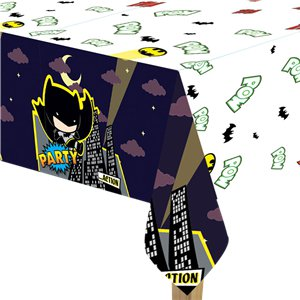 Batman & Joker Plastic Tablecover - 1.8 x 1.2m
