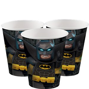 LEGO Batman Cups - 266ml Paper Party Cups