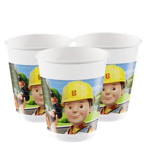 Bob the Builder Party Cups - 200ml