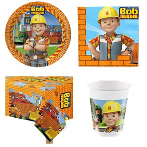 Bob the Builder Party Pack - Value Pack for 8