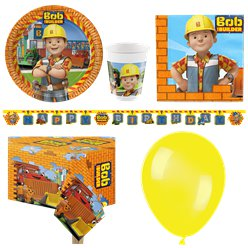 Bob the Builder Party Pack - Deluxe Pack for 8
