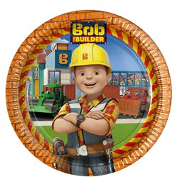 Bob the Builder Plates - 23cm