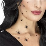 Crawling Spider Tattoo Transfers