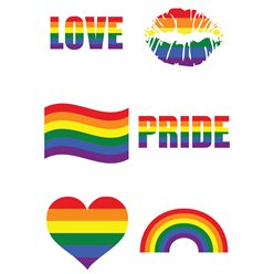 Pride Tattoo Sheet