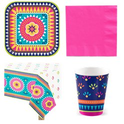 Boho Fiesta Value Party Pack for 8