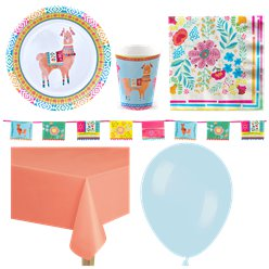 Mexican Boho Party Pack - Deluxe Pack For 8
