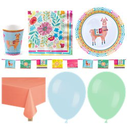 Mexican Boho Party Pack - Deluxe Pack For 16