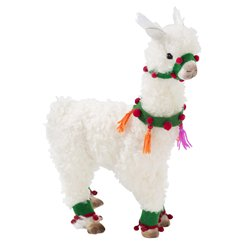 Fiestive Llama Large Plush Room Decoration - 36cm