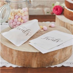Boho Wedding Candy Bags - 25cm
