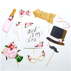 Boho Wedding Photo Booth Props