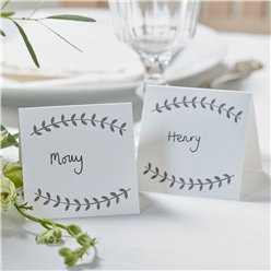 Boho Wedding Place Cards