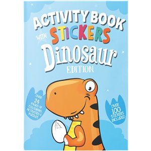 Dinosaur A4 Sticker & Activity Book