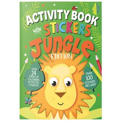 Jungle A4 Sticker & Activity Book