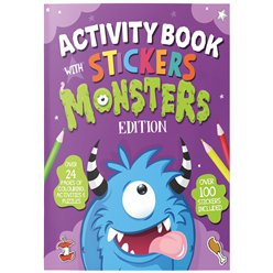 Monster Activity Book