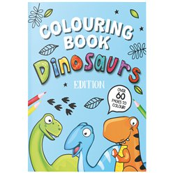Dinosaur A4 Colouring Book