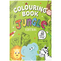 Jungle A4 Colouring Book
