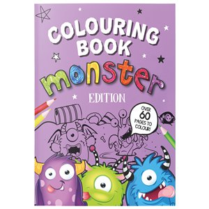 Monster A4 Colouring Book