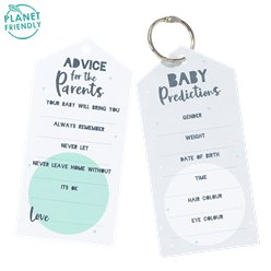 Born To Be Loved Keyring Advice Cards