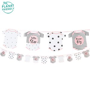Born To Be Loved Pink Garland - 3.5m