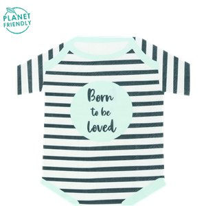 Born To Be Loved Shaped Paper Napkins