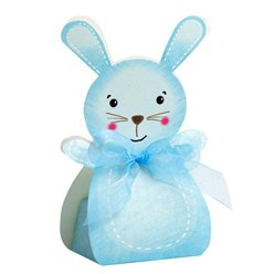 Blue Rabbit Favour Boxes