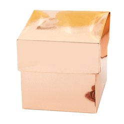 Rose Gold Favour Boxes - 5cm