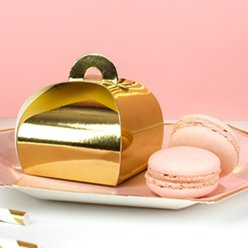 Gold Favour Boxes