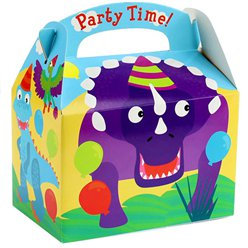 Dinosaur Party Box - 15cm long