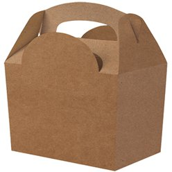 Compostable Kraft Party Box- 15cm long