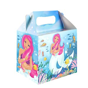 Mermaid Party Box - 14cm long