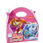 Pink Paw Patrol Party Box - 14cm long