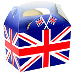 Union Jack Party Box - 15cm long
