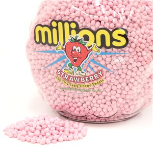 Millions - Strawberry Flavour - 2.27kg