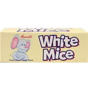 Hannah White Mice 3kg Bulk Bag