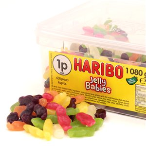 Haribo Jelly Babies Tub