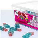 Haribo Fizzy Bubble Gum Bottles Tub